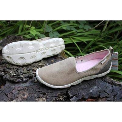 Женские мокасины Crocs Busy Day Canvas Shoe