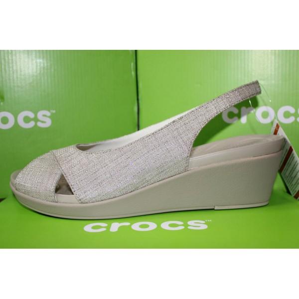 Женские босоножки Crocs Leigh Ann Slingback Wedge