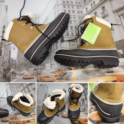 Мужские зимние ботинки Crocs AllCast II Snow Boot