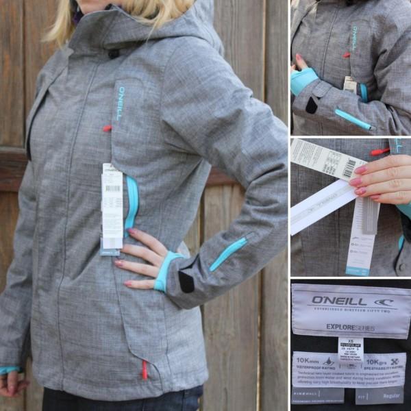 b4b7c976cdd76 купить женскую лыжную куртку O'Neill PWEX Rainbow Jacket ...